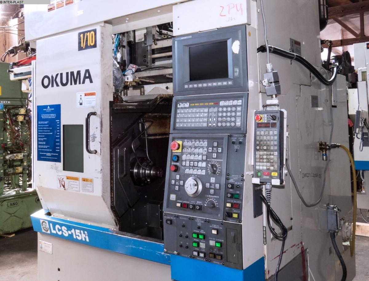 gebrauchte  CNC Drehmaschine OKUMA LCS 15-H