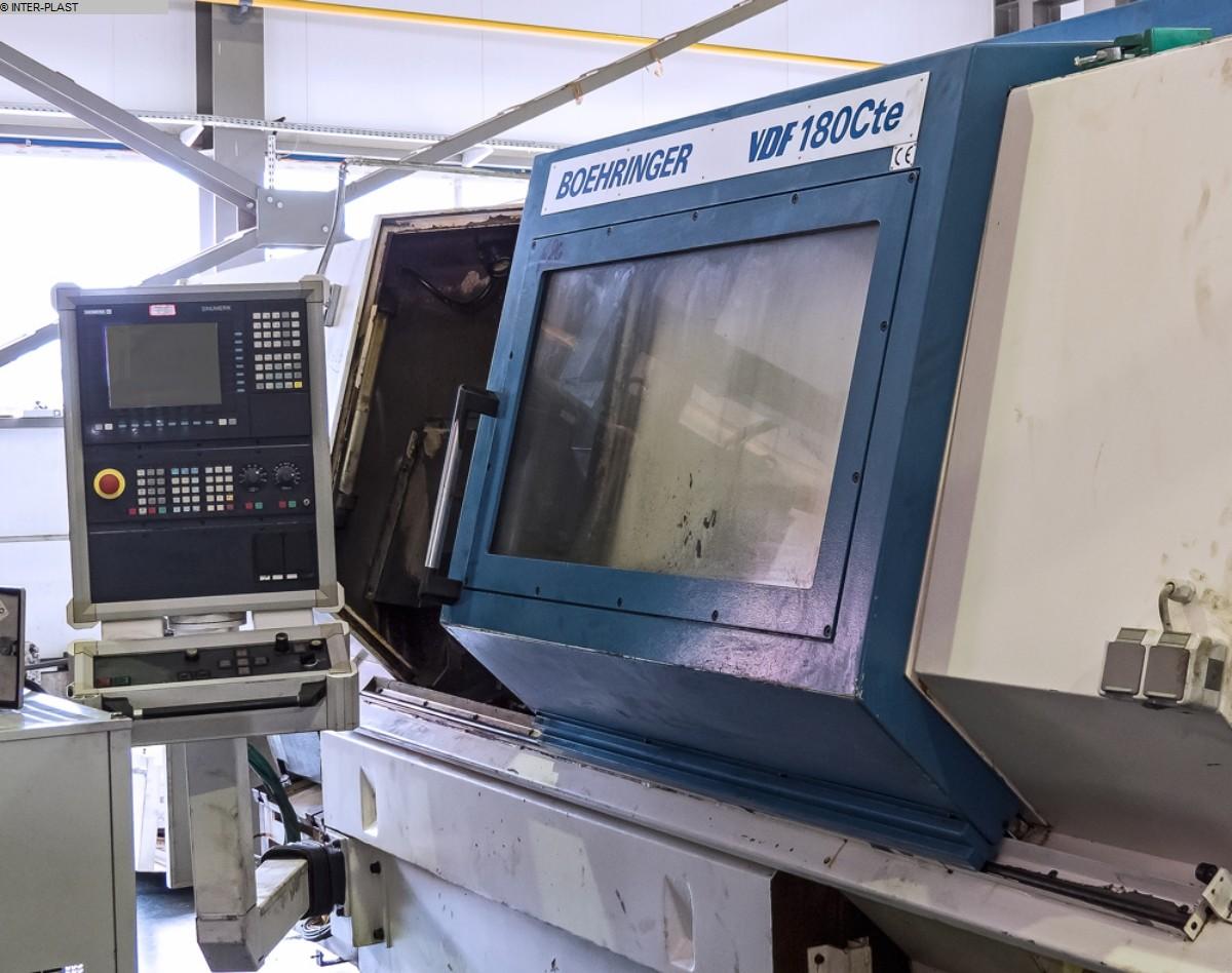 used  CNC Lathe BOEHRINGER VDF 180 CTE