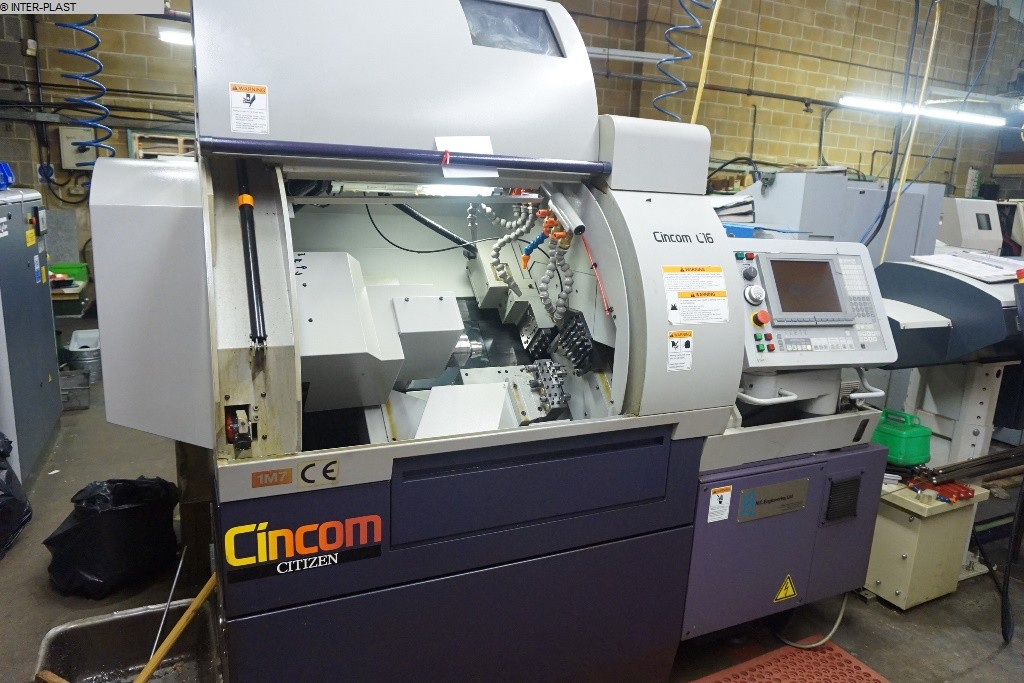 used  CNC Lathe CITIZEN C16 VII