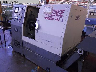 used CNC Lathe HARDINGE SG 42
