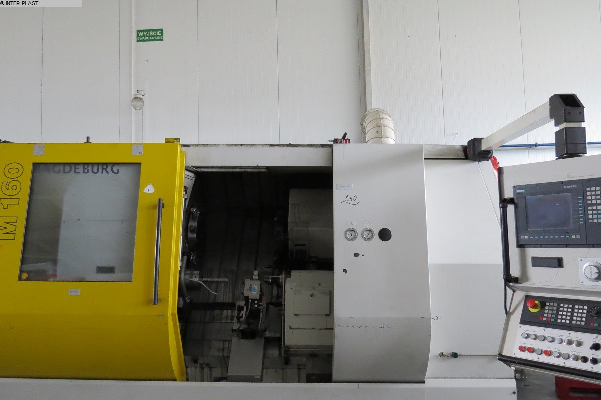 used  CNC Lathe MAGDEBURGER M160 S-4