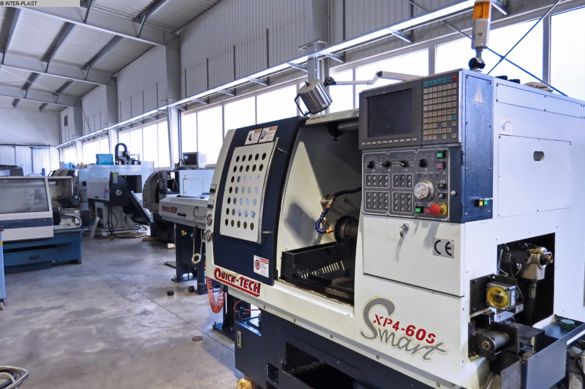 used  CNC Lathe QUICK TECH XP4-60SM