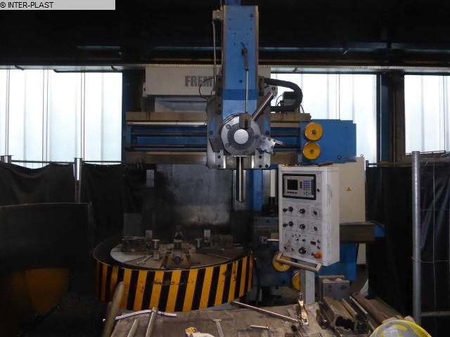 gebrauchte Drehmaschinen Karusselldrehmaschine - Einständer FREMTAS 6FR1.300