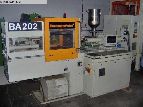gebrauchte Kunststoffverarbeitungsmaschinen Spritzgiessform bis 1000 KN BATTENFELD BA 202