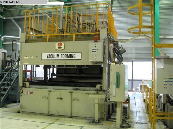 gebrauchte Maschinen sofort verfügbar Vakuum/Druckluft Thermoformautomaten SINTO VPM 3