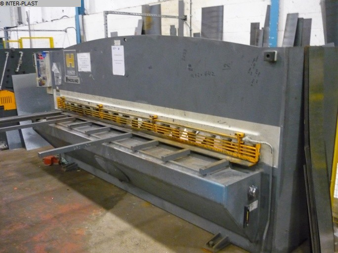 used Sheet metal working / shaeres / bending Plate Shear - Hydraulic HACO TS 3006