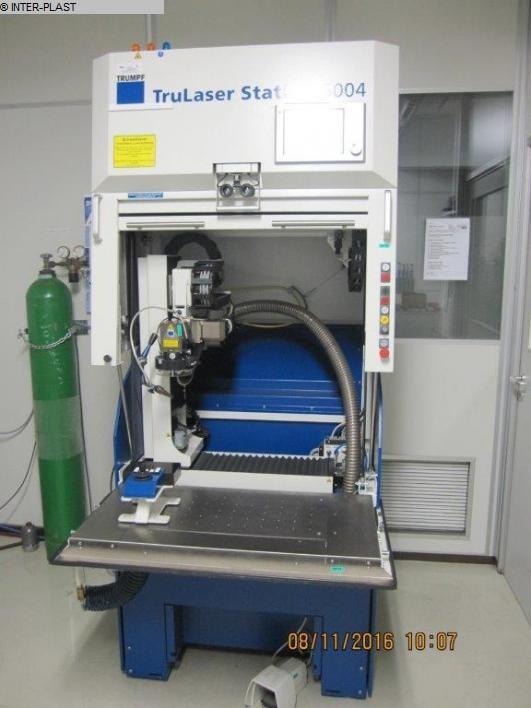 gebrauchte Schweissmaschinen etc. Laserschweißmaschine TRUMPF TRULASER STATION 5004