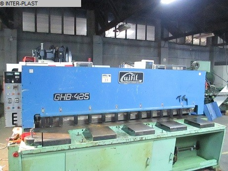 gebrauchte Blechbearbeitung / Scheren / Biegen / Richten Tafelschere - hydraulisch GUIFIL GHB-425