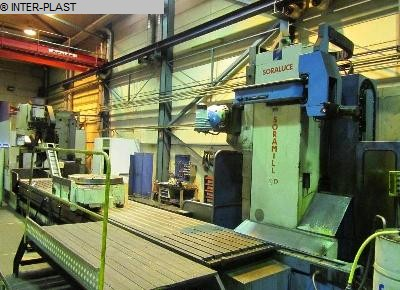 used Bed Type Milling Machine - Horizontal SORALUCE Soramill SP 8000
