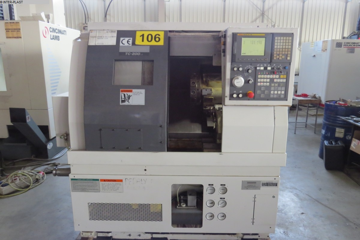 used CNC Lathe - Inclined Bed Type TAKISAWA TC-200 L3