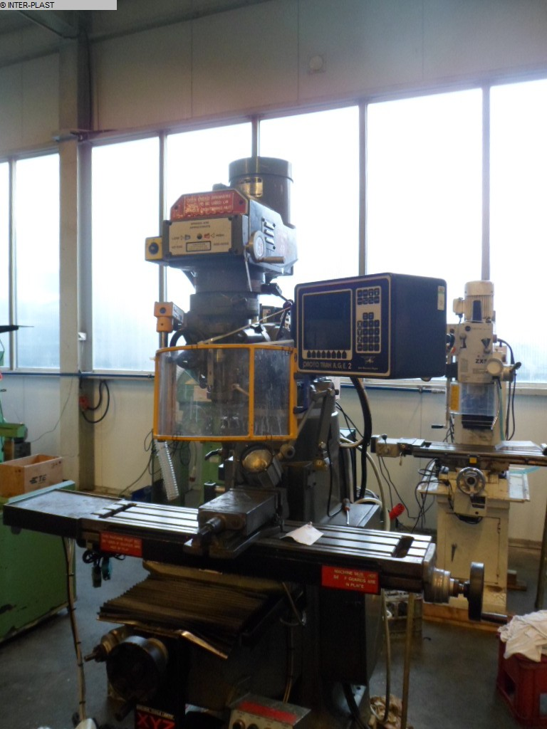 used Tool Room Milling Machine - Universal XYZ 1500 VS