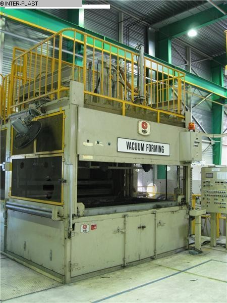 used In Line Thermoformer SINTO VPM 3