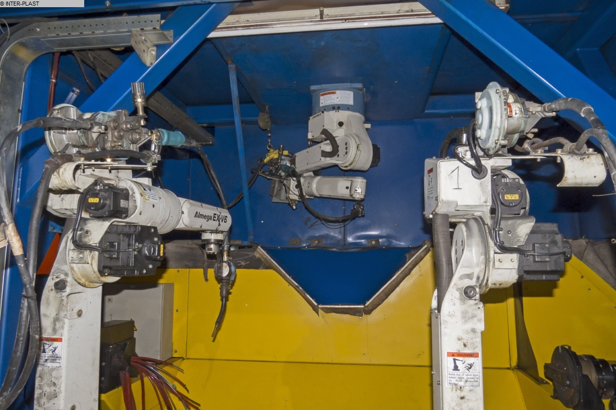 used Welding machines Welding Robot AVL ZM-L 2+3