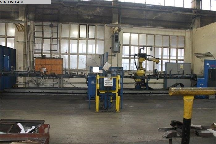 used Welding Robot FANUC ARC MATE 120iB/10L