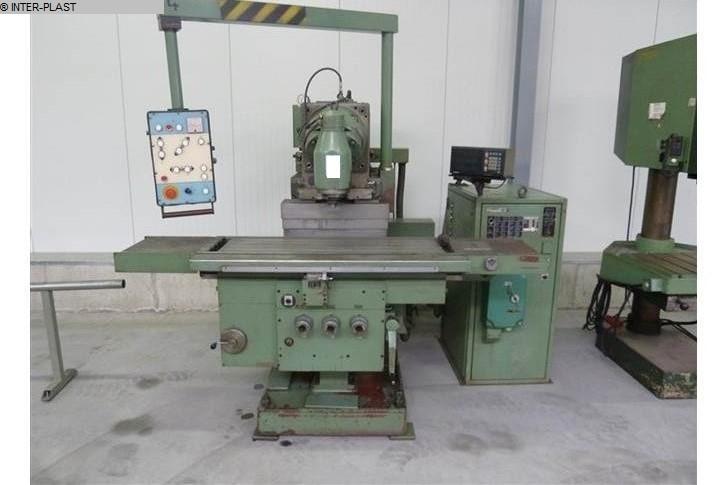 Fresadora de madera de fresado y tenizamiento usada TOS FGS 32-40