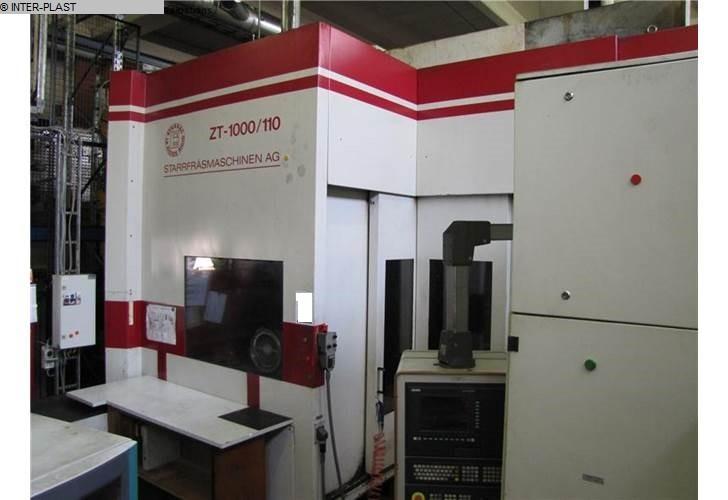 gebruikte freesmachines freesbewerkingscentra - horizontaal STARRAG ZT-1000 / 110