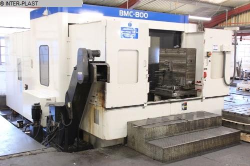 İkinci el freze makinası Freze işleme merkezleri - yatay TOSHIBA BMC 800