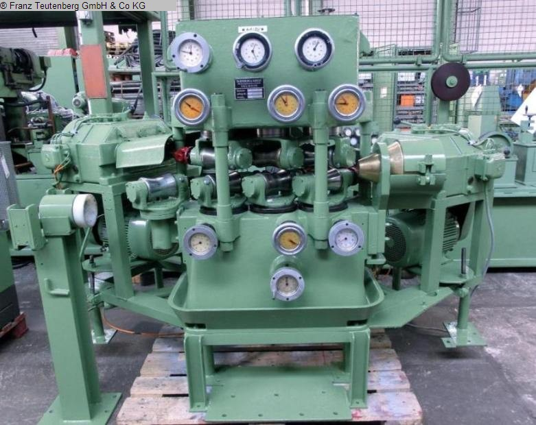 used machine 6-roll tube straightening machine KIESERLING VRM 35