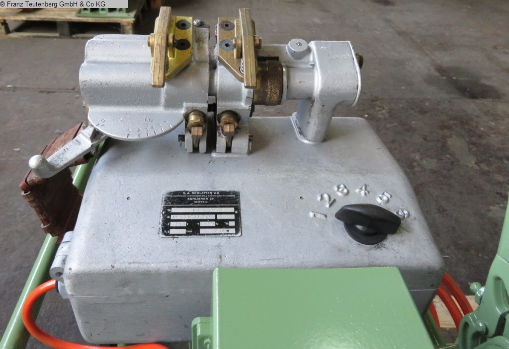 used machine Butt welding machine SCHLATTER EA-2