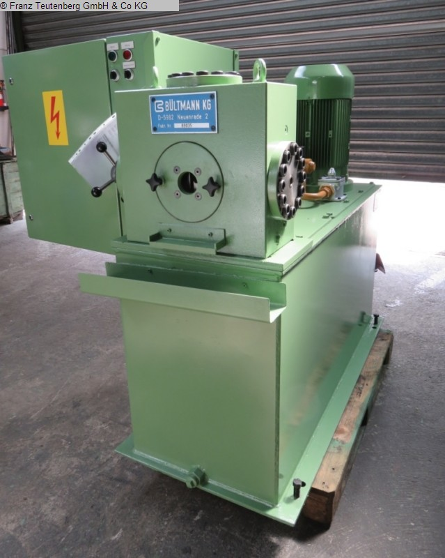 used machine Folding tag pointer BUELTMANN HAP 20
