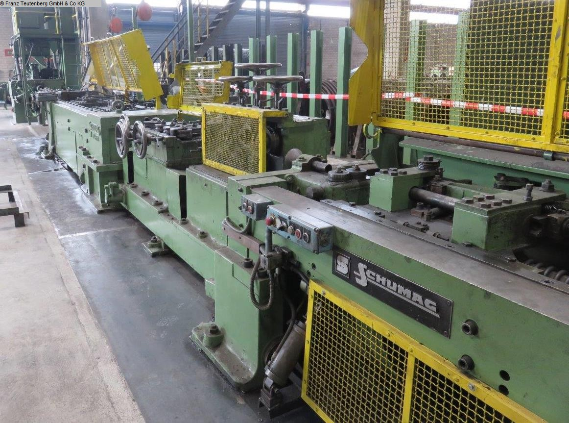 used Combined drawing machine SCHUMAG KZ - RP 2A