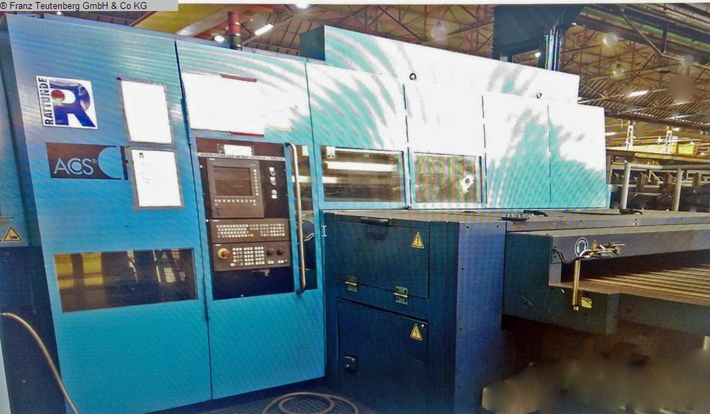 used Sawing centre RATTUNDE ACS 90/2