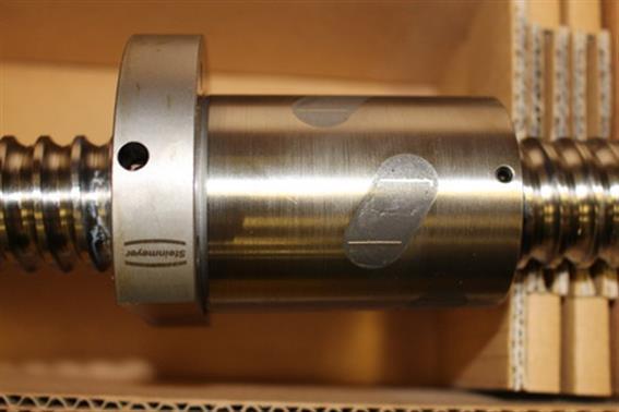 gebrauchte Ersatzteile STEINMEYER Kugelrollspindel INDEX G300