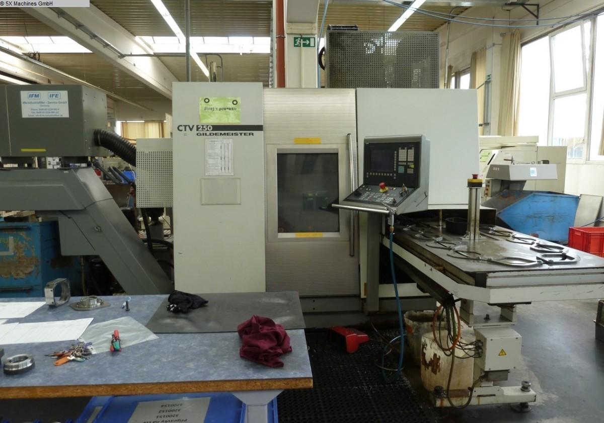gebrauchte Maschine Vertikaldrehmaschine DMG GILDEMEISTER CTV 250 V3