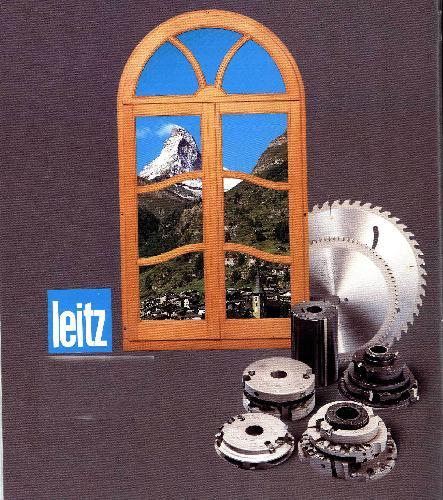 gebrauchte Maschine Fensterwerkzeuge LEITZ IV68/78/88Holz-Holz/Alu