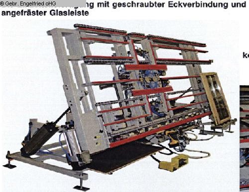Photo 2 RUCHSER wood window manufacturing assembly