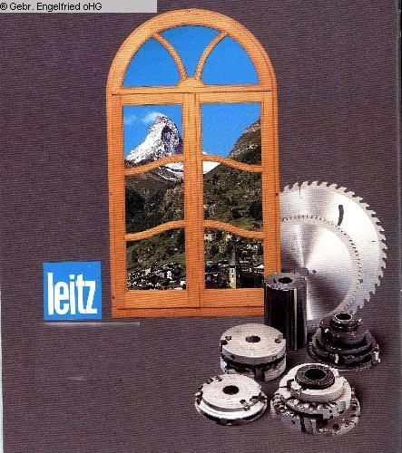 gebrauchte Maschine Fensterwerkzeuge LEITZ Hobelkoepfe+Leistentrennung