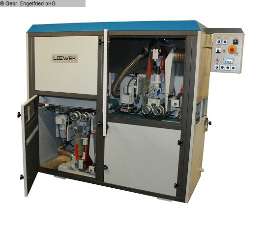 gebrauchte Maschine Schleifmaschine LÖWER DoubleMaster DSM 2000