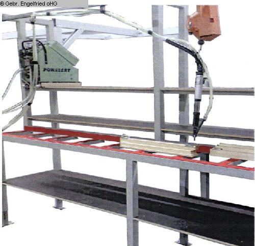 usato Produzione finestre: legno Stazione di montaggio RUCHSER Holzfenster-Fertigung Montage