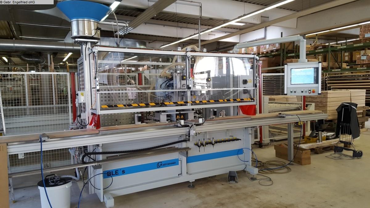 gebrauchte Fensterfertigung: Holz Bohr- und Dübeleintreibmaschine GÖTZINGER PowerDrill m. Duebeleintreiben