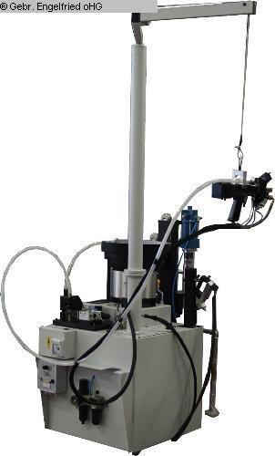 gebrauchte Fensterfertigung: Holz Bohr- und Dübeleintreibmaschine STEMA Spinamatic GLF/HP -Video-