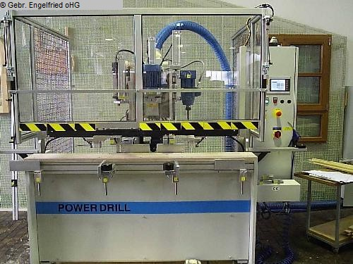 used Window production: wood Boring and dowel inserting machine GÖTZINGER PowerDrill