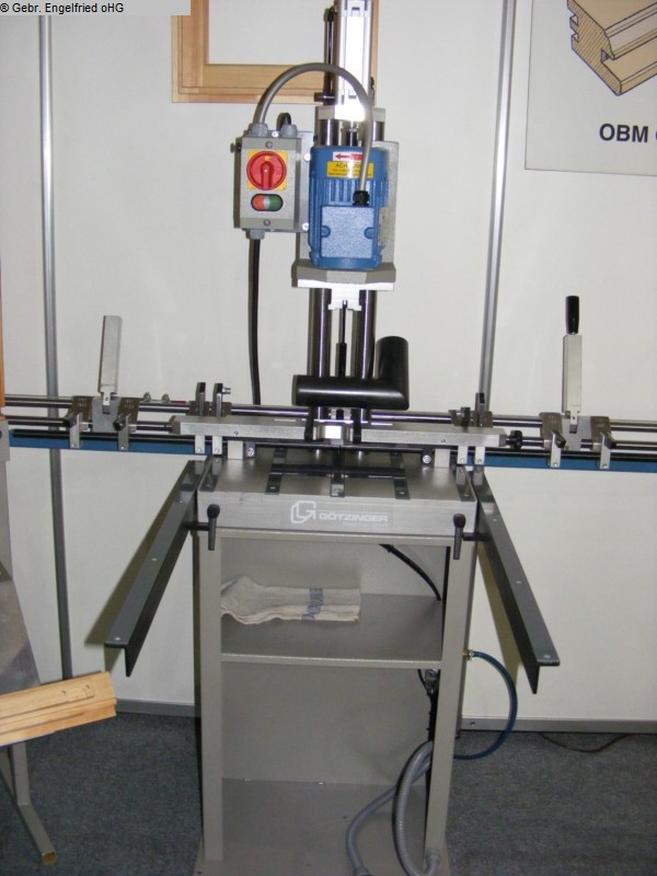 used Window production: wood Boring machine for fittings GÖTZINGER OBM 1