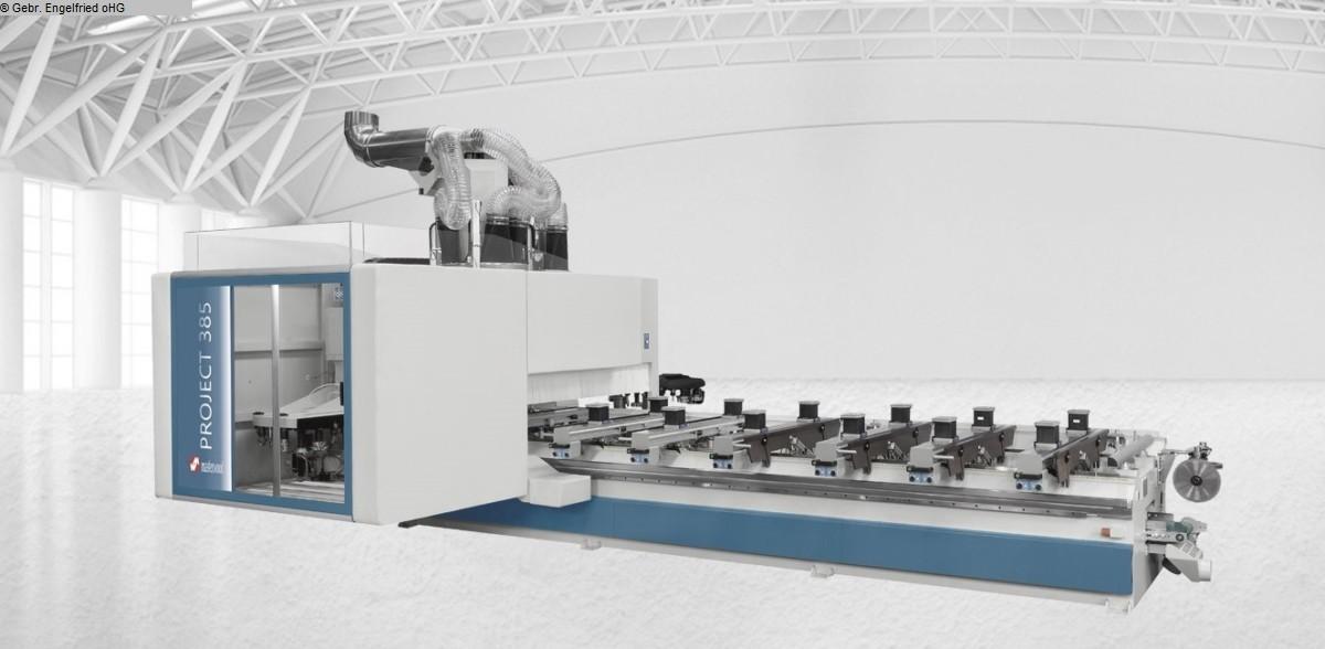 gebrauchte Fensterfertigung: Holz CNC-Bearbeitungszentrum Fenster u. Türen MASTERWOOD Project385 Innenausbau,Fenster