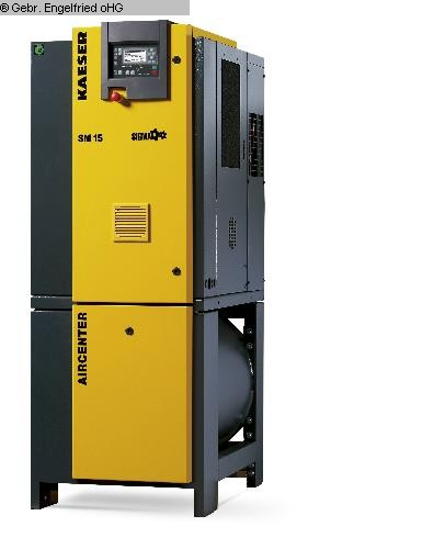 used Compressors Compressor KAESER Aircenter SM 15