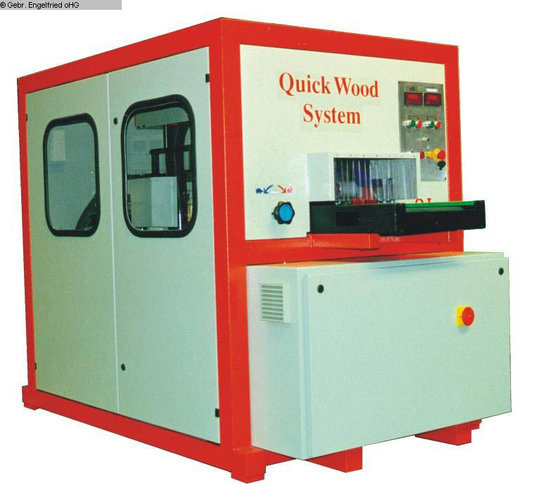 used Window production: wood Sanding machine QUICKWOOD QL 4-8