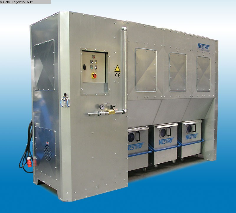 gebrauchte Entsorgung, Lufttechnik, Absaugen, Zerkleinern, Brikettieren Entstauber NESTRO NE 300 W