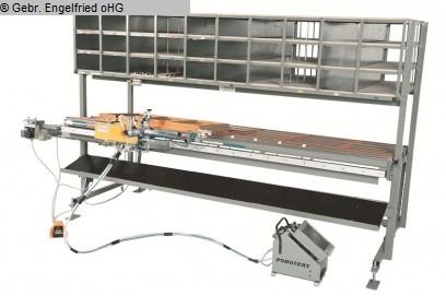 gebrauchte Fensterfertigung: Holz Beschlagcenter RUCHSER RU-BM-3000 Flügelmontagetisch