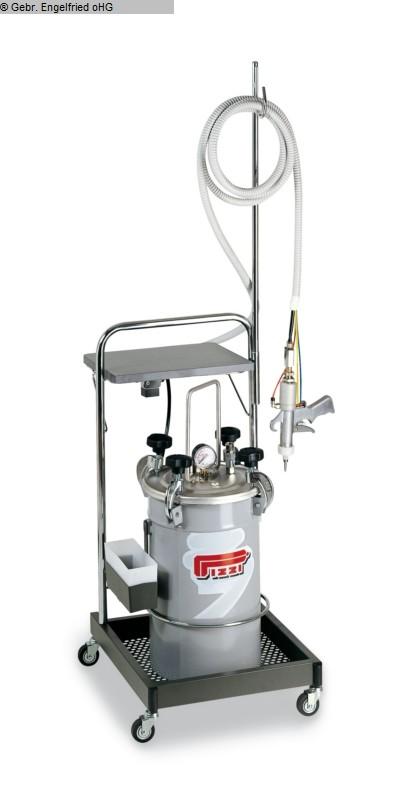 gebrauchte Bohr- und Dübeleintreibmaschine PIZZI Leimangabe f. Duebelbohrungen