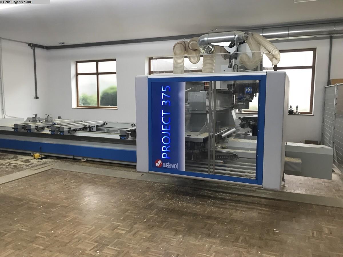 gebrauchte CNC-Bearbeitungszentrum Fenster u. Türen MASTERWOOD Project 385 WL Video
