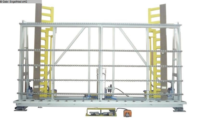 gebrauchte Fensterfertigung: Holz Verglasungs- und Kontrollpresse RUCHSER RU-VGPA 3