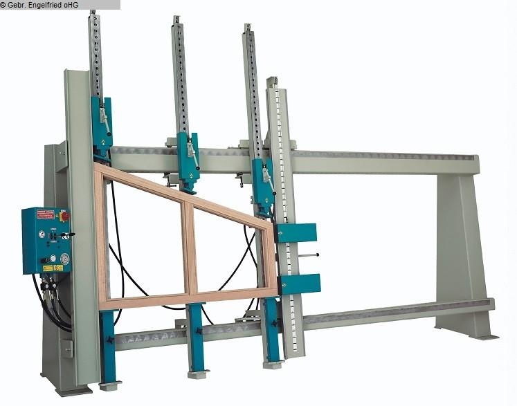 usato Produzione finestre: legno Telaio pressa SCHAFBERGER + SPROEDHUBER T 35