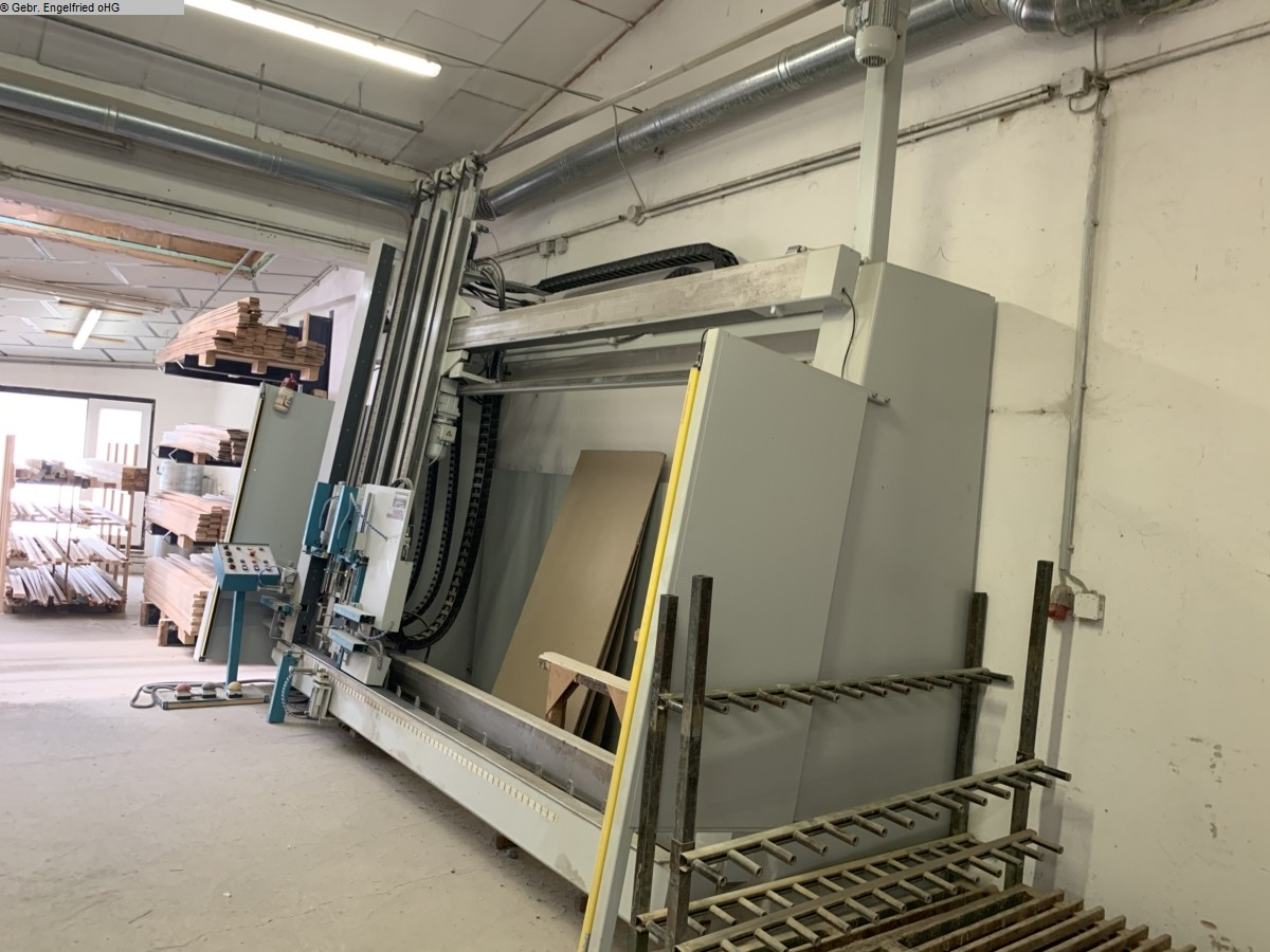 used Window production: wood Frame press SCHAFBERGER + SPROEDHUBER Super - Video