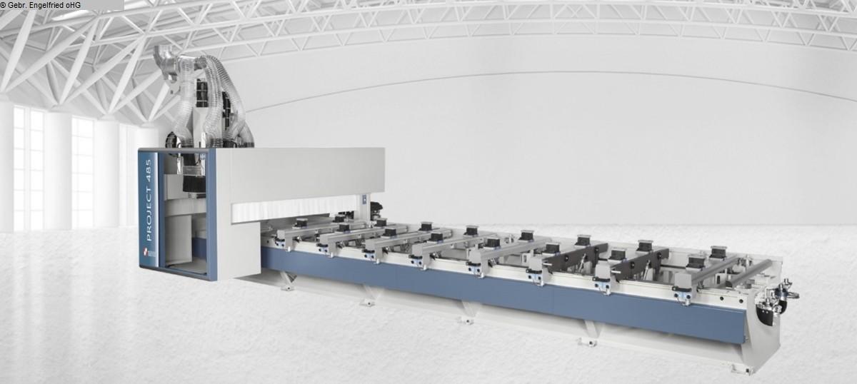 used  cnc-processing center MASTERWOOD Project 485,Innenausbau,Platte