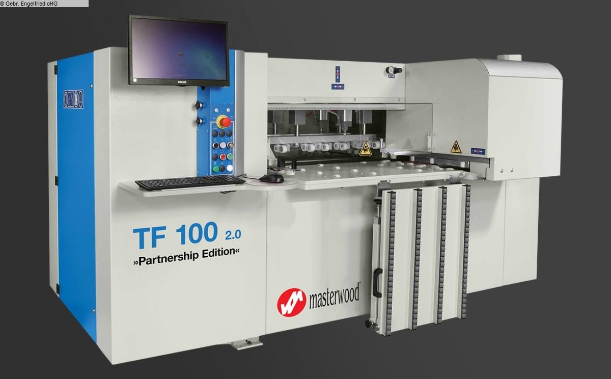 gebrauchte CNC-Bearbeitungszentrum MASTERWOOD TF 100 2.0 Partnership Edition