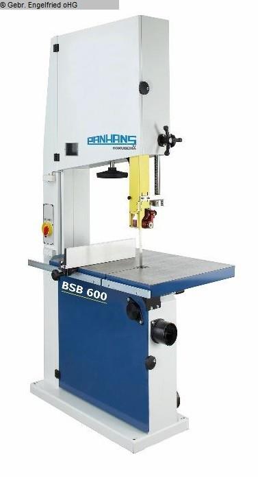 gebrauchte Holzbearbeitungsmaschinen Bandsäge PANHANS BSB 600